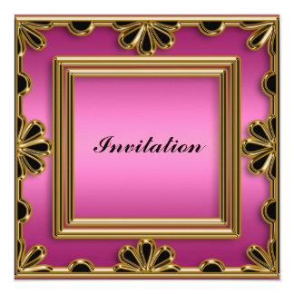 Invitation Elegant women's Birthday Party