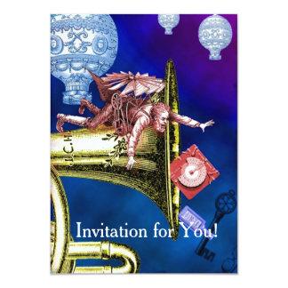 INVITATION-ENGAGEMENT DINNER - IMAGINATIVE UNIQUE CARD