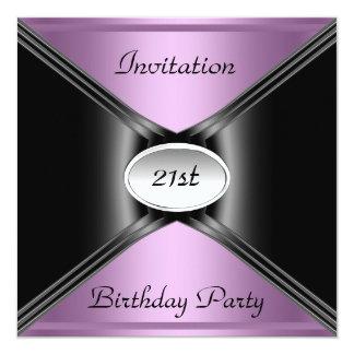 Invitation Envelope Any Birthday Purple color