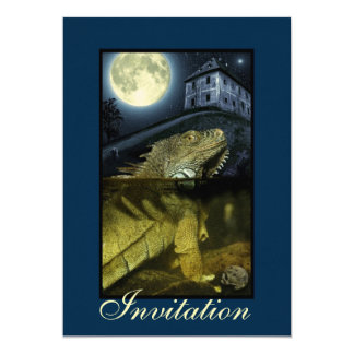 Invitation for ghostly occasions