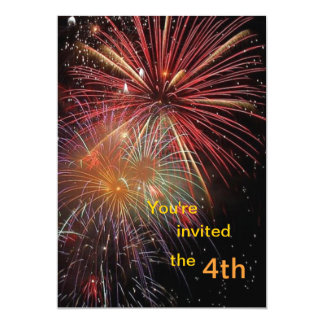 invitation for July 4th