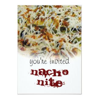 invitation for NACHO NITE