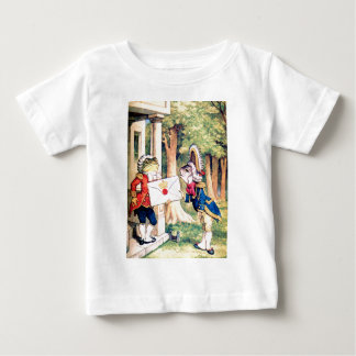 Invitation From the Queen of Hearts in Wonderland Baby T-Shirt