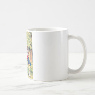 Invitation From the Queen of Hearts in Wonderland Coffee Mugs