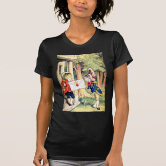 Invitation From the Queen of Hearts in Wonderland Shirt