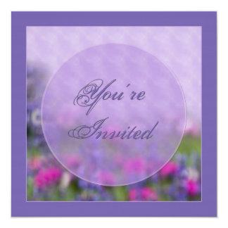 Invitation - Garden - Flowers MISC.