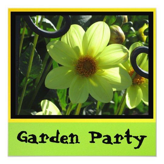 Invitation - Garden Party