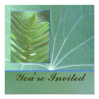 Invitation - Green Fern - Multipurpose