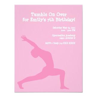 invitation - gymnastics, Tumble On Overfor Emil...