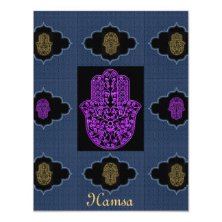 Invitation*Hamsa*Event Card