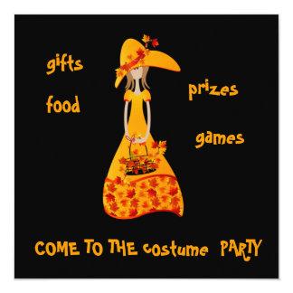 invitation...harvest party card