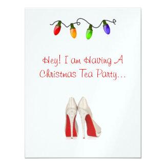 Invitation Holiday Tea Party