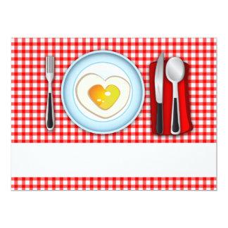 Invitation I love Food