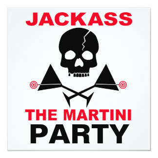 Invitation - JACKASS, The Martini Party