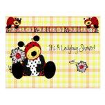 Invitation ...Ladybug Shower Postcard