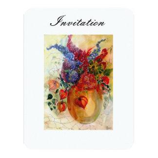 "Invitation ""Lazy Autumn"" 4.25"" X 5.5"" Invitation Card"