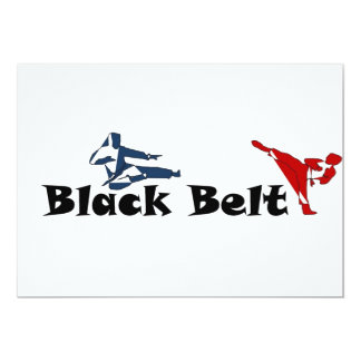 invitation martial arts black belt