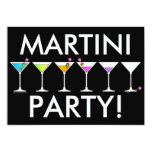 Invitation - Martinis Going, Going, GONE