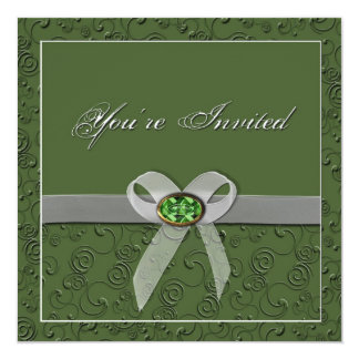 Invitation - Multi Use - Sage - Formal