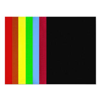 """Invitation - Multicolor - Multipurpose 6.5"""" X 8.75"""" Invitation Card"""