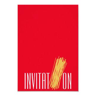 Invitation Organic Food Italian Spaghetti