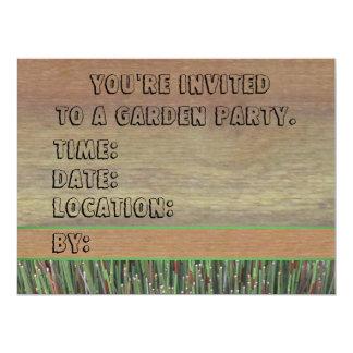 """Invitation - Ornamental Grass - Multipurpose 6.5"""" X 8.75"""" Invitation Card"""