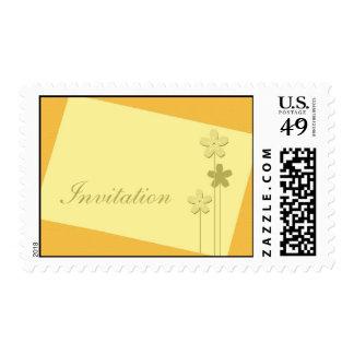 Invitation Postage Stamp Design