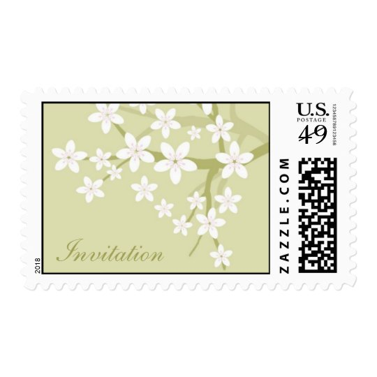 Invitation Postage Stamp Design