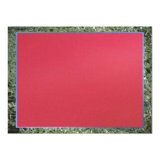 Invitation - Red - Multipurpose