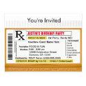 Invitation | RX Prescription for Fun Postcard (<em>$1.00</em>)