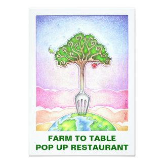 INVITATION - SUSTAINABLE, FOOD FOR LIFE