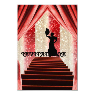 Invitation Tango Flamenco Latin Dance