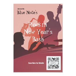 Invitation Template Event Jazz Band