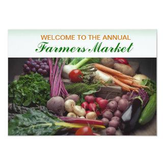 Invitation Template Farmer's Market