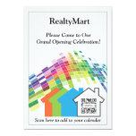 """Invitation Template House Realtors 5"""" X 7"""" Invitation Card"""