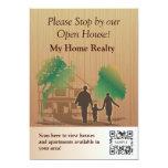 "Invitation Template My Home Realty 5"" X 7"" Invitation Card"
