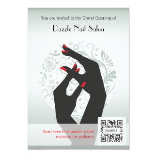 Invitation Template Nail Salon