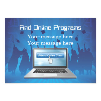 Invitation Template Online Degrees