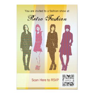 Invitation Template Retro Fashion