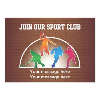 Invitation Template School Athletics