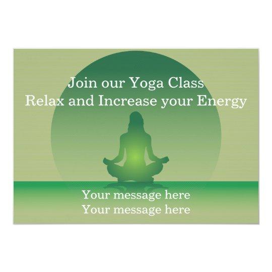 Invitation template yoga zazzle invitation template yoga stopboris Gallery