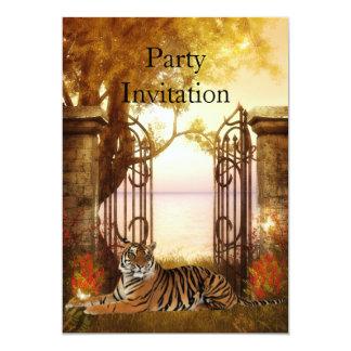 Invitation Tiger At The Gate