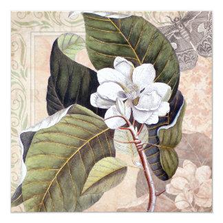 Invitation to a Garden Party Magnolias
