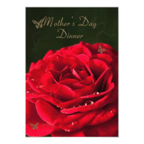 Invitation to a Mother's day Dinner