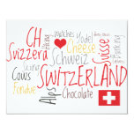 Invitation to a Swiss Theme Event