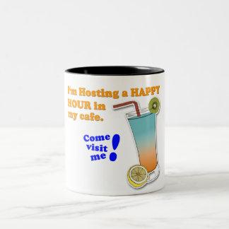 """Invitation to Happy Hour"" Game Mug"