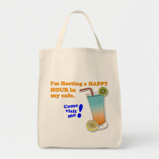 """""""Invitation to Happy Hour"""" Game Tote Bag"""