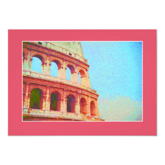 Invitation to Italian Dinner Event - Coliseum Rome