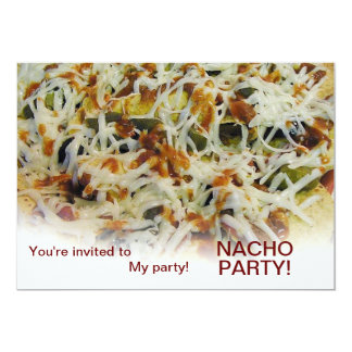 invitation to my party NACHO party