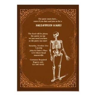 Invitation to Party Halloween Style